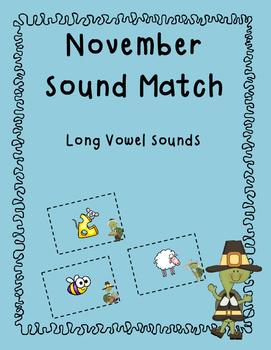 November Long Vowel Sound Match