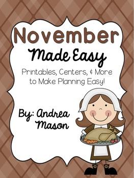 November Made Easy!