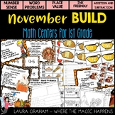 BUILD Math Centers for First Grade NOVEMBER