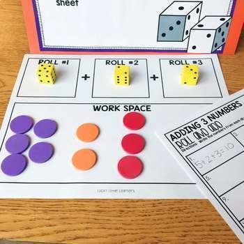 November Math Centers & Activities for 1st Grade
