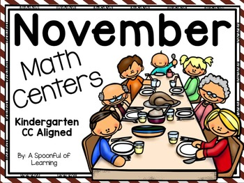 November Math Centers! Aligned to the CC