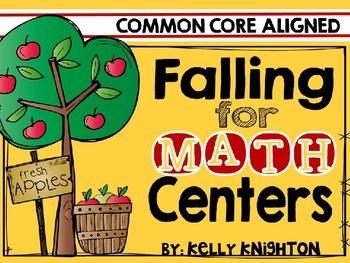 November Math Centers {Kindergarten}