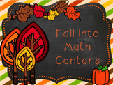 November Math Centers Third rounding place value