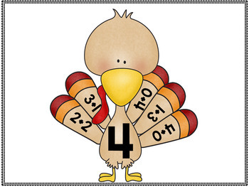 November Math Centers and Activities- Thanksgiving Activities