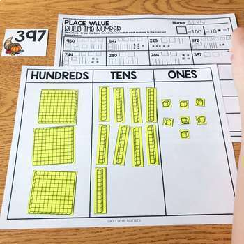 November Math Centers and Activities for 2nd Grade