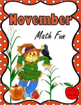 November Math Fun
