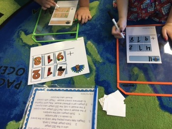 November Math Games Bundle: 2 & 3 Digit Addition and Facts practice