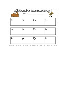 November Math Games and Centers