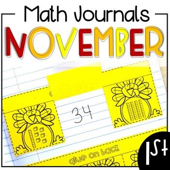 November Math Journal First Grade