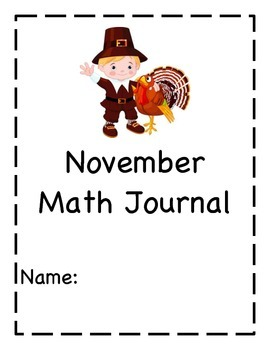 November Math Journal
