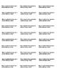 November Math Journal Prompts - 8 sets