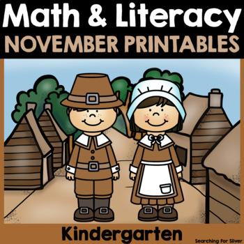 November Math & Literacy {Kindergarten}