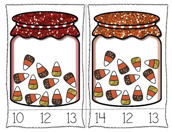 November Math Printables for Kinder & First