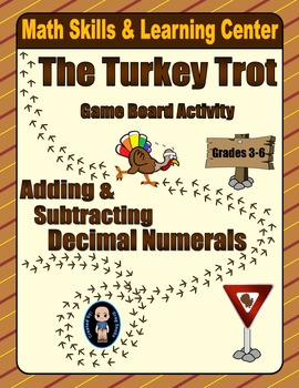 Thanksgiving Math Skills & Learning Center (Add & Subtract