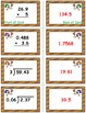 Thanksgiving Math Skills & Learning Center (Multiply & Divide Decimals)