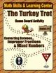 Thanksgiving Math Skills & Learning Center (Understanding Fractions Bundle)