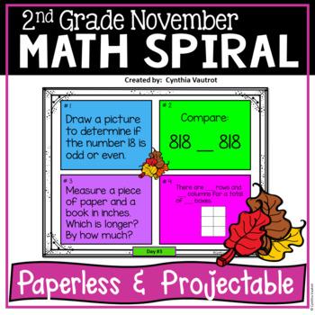 2nd Grade - November