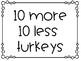 November Math Tubs or Centers
