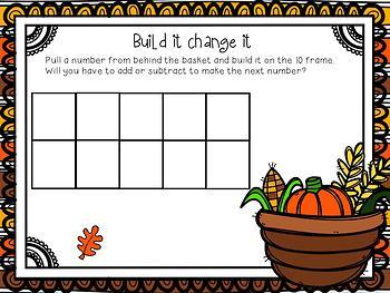 November Math Whole Group Flipchart