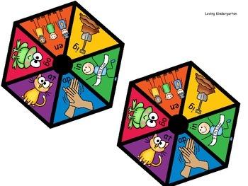 November Math and Language Arts Games for Kindergarten