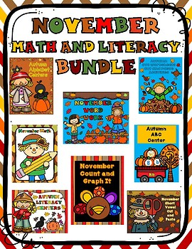 November Math and Literacy Bundle