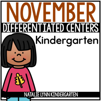 November Math and Literacy Centers
