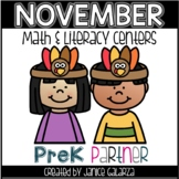 November: Math and Literacy Centers