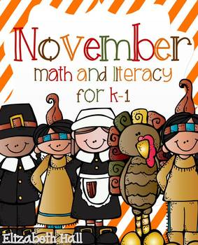 November- Math and Literacy Unit