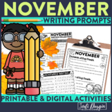 November Journal Prompts | November Writing Prompts | Nove