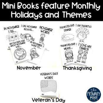 November Mini Books