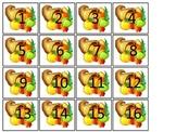 November Month themed Classroom Calendar Dates. Homeschool Bulletin Board Cale