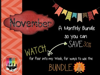 November Monthly Bundle Deal