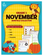 November Monthly Collection, Grade 1
