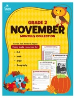 November Monthly Collection, Grade 2