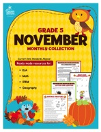 November Monthly Collection, Grade 5