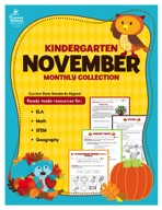 November Monthly Collection, Grade K