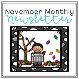 November Monthly Newsletter [EDITABLE]