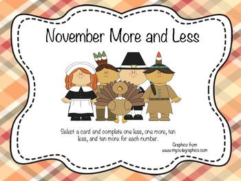 November More and Less