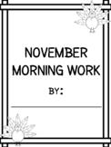November Morning Journal - 2017