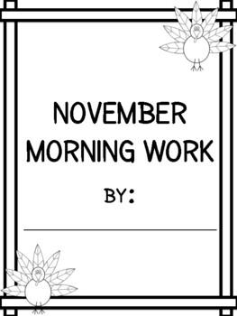 November Morning Journal - 2016