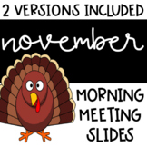 Social Distance   November Morning Meeting Slides
