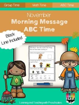November Morning Message ABC Time