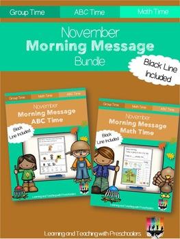 November Morning Message Bundle