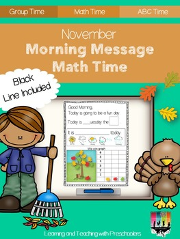 November Morning Message Math Time
