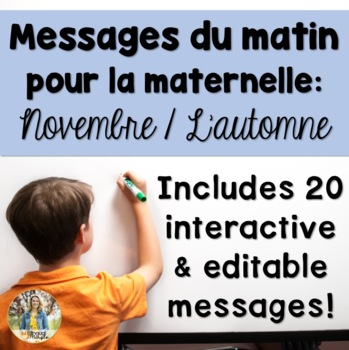 November Morning Messages/Messages du matin - French