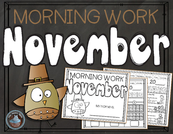 November Morning Work