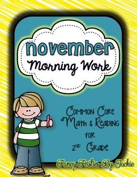 November Morning Work -- 2nd Grade