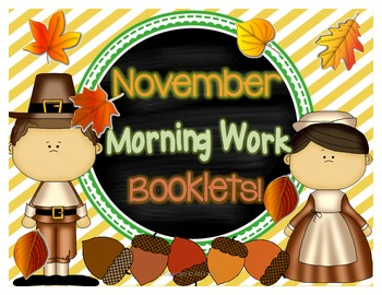 November Morning Work Booklets