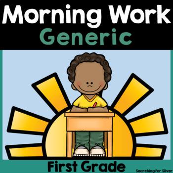 Morning Work {First Grade}