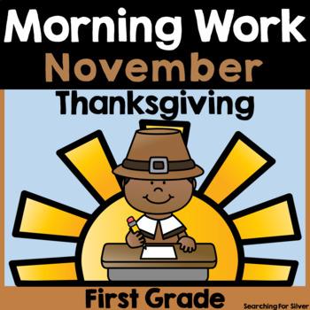 November Morning Work {First Grade}